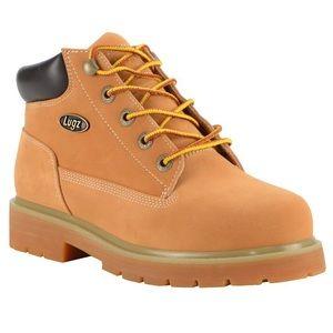 Womens Lugz Drifter Mid Steel Toe Chukka Boots Buckwheat
